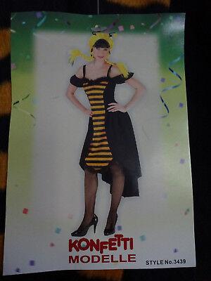 Kostüm Biene Maya Flotte Biene Damenkostüm Karneval 38 oder 40 NEU Rubies - Damen Kostüm Biene