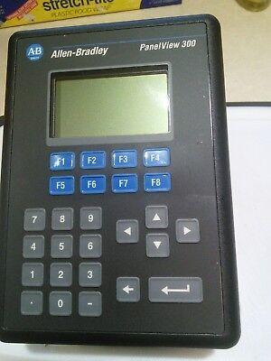 Allen Bradley Panelview 300 2711-k3a5l1 Ser A Rev B