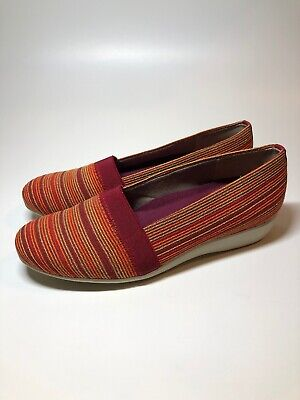 American Classic Orange Light - Munro American NEW Walking Wedge Extra Light Red/Orange Shoes Womans Size 7.5 M