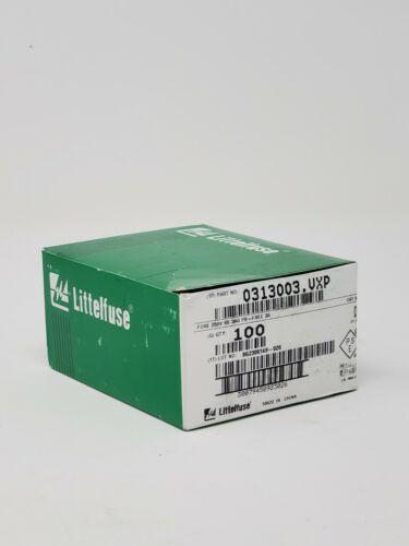 LittleFuse - 313003P - 3AG Slo-Blo Fuse - 100 Pack