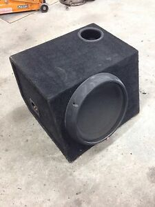 """Rockford Fosgate T0D412 12"""" Sub with Ported Box Shellharbour Shellharbour Area Preview"""