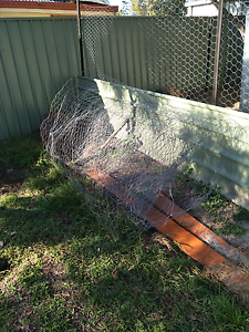 Chook mesh 1800 high some big star pickets Deception Bay Caboolture Area Preview