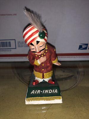 "Vintage Air India Mascot Maharaja Figure 4"" High, Advertising, Airline"