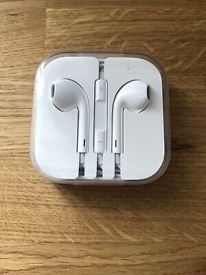 100% Genuine Apple Earphones Headphones With Mic Hands-free For iPhone 6 6s 5 5s