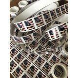 10 USPS Forever Stamps US Star Spangled Banner Flag Heart Postage Coil Sheet USA