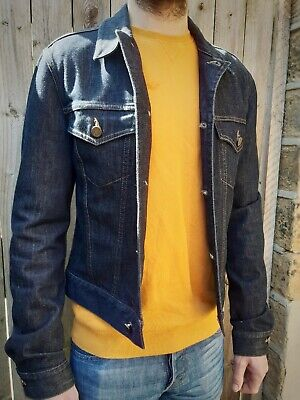 Alexander McQueen mens denim jacket Small