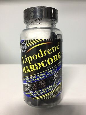 HTP Lipodrene Hardcore 90ct. Manufactured on 11-25-17 *Same Day Shipping*
