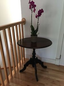 Hardwood Accent Table