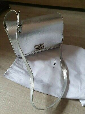 iro leather bag silver Made in France retail £749 New condition, dustbag include