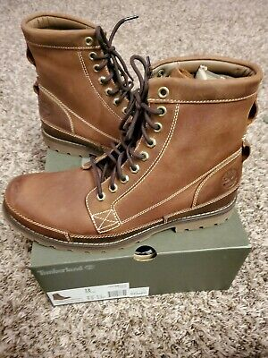 Timberland Men's Earthkeepers Rugged Boot, Medium brown full grain - Size 12