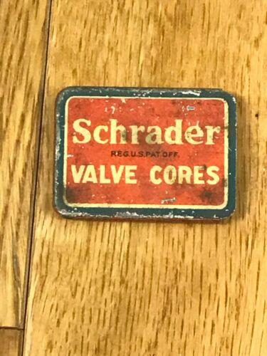 Vintage Willys MB Ford GPW Dodge Schrader Valve Cores Three With Tin
