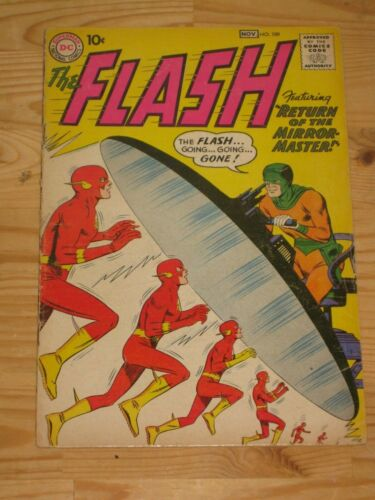 Flash #109 (1959 1st Series) Silver Age DC Second Appearance of Mirror Master