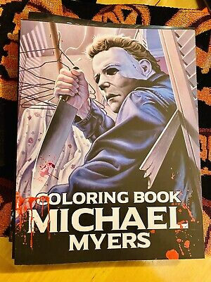Michael Myers Halloween 1978 Adult Coloring Book.