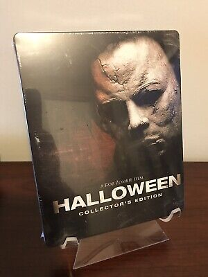Rob Zombie Halloween Steelbook (2-Blu-Ray Disc Set, Collector's Edition) SEALED!](Rob Zombie's Halloween Movies)
