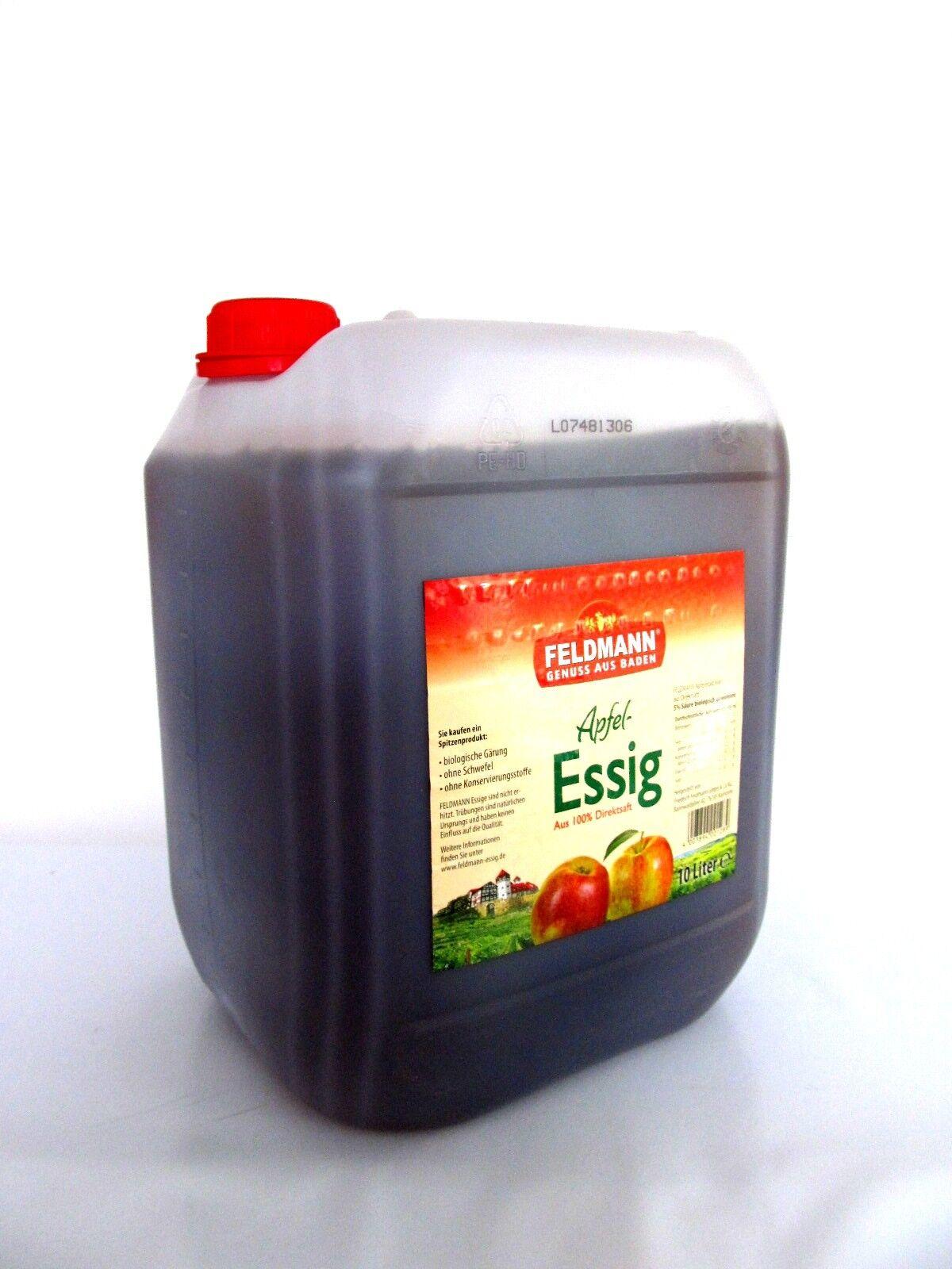 Feldmann Apfel-Essig 10 L Kanister