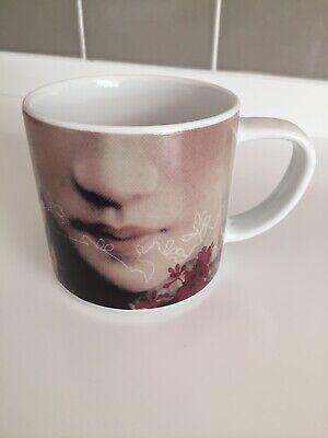 Habitat Collection 2005 Akina design by iBride lady face porcelain cup mug