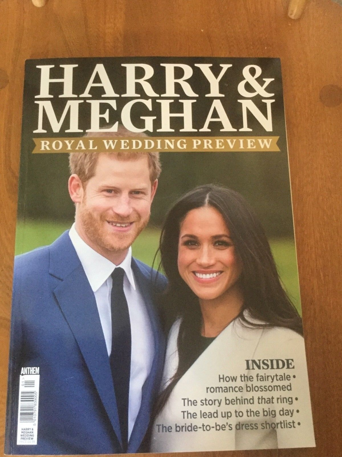 HARRY and MEGHAN ROYAL WEDDING PREVIEW - MEGHAN MARKLE and PRINCE HARRY magazine NEW