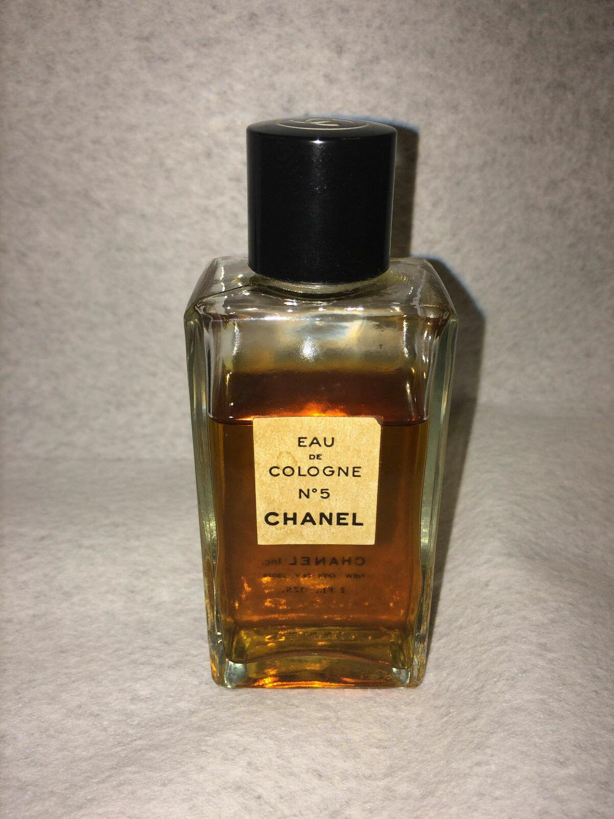 0d0555bfccd52 Vintage CHANEL No 5 Perfume Eau De Cologne 2oz