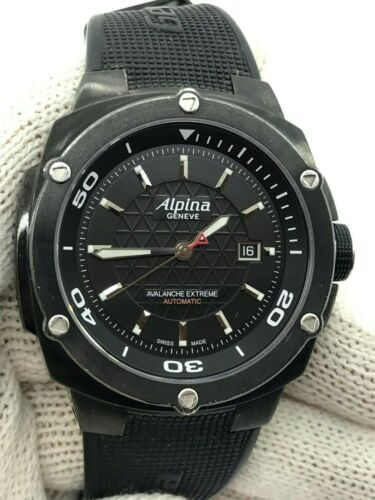 ALPINA AVALANCE EXTREME  AUTOMATIC AL525X5AE416 MENS 50mm  SWISS MADE