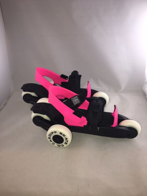 Cardiff Cruiser Adjustable Roller Skates Youth size hot pink