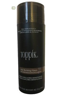 Toppik Hair Building Fibers - Giant 55g / 1.94 oz - Medium Brown SALE!!