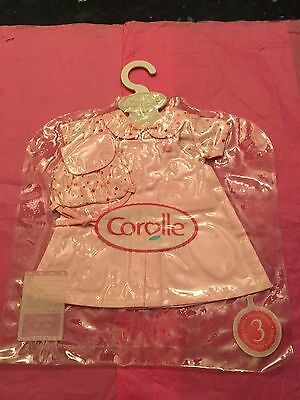 "Clothes for Corolle 13""/14"" Doll - Pink Dress & Blouse - new"