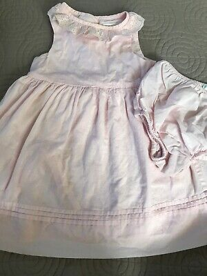 Baby Girl Ralph lauren Dress 9 Months - Easter Spring Pink White Lace Collar