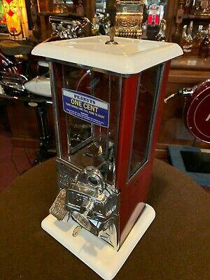"1923 MASTER 1 Cent PEANUT Bulk Machine Vendor  ""Watch Video"""