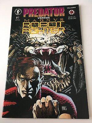 PREDATOR vs MAGNVS ROBOT FIGHTER, #'s 1 (RARE MINI-SERIES, 1992)