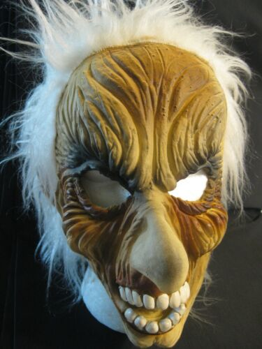 TopStone Halloween Fright Monster Troll Mask Vtg.1980s in Excellent Condition