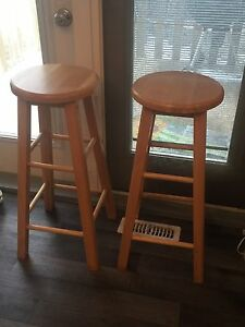 Selling two stools for 40.00