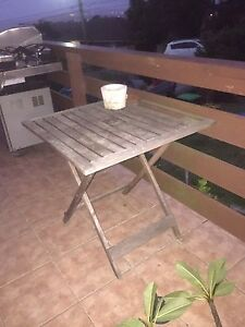 Timber outdoor table Allambie Heights Manly Area Preview