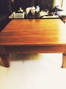 Timber table , quality and solid wood, indoor and outdoor Darling Point Eastern Suburbs Preview