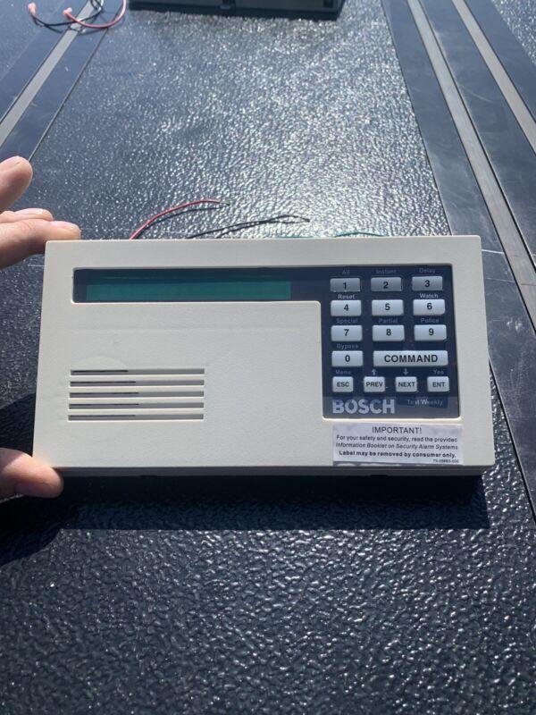 Bosch, D1255 Alarm Keypad - white, used, functioning, security keypad