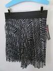 Animal Print Zebra Skirts for Women