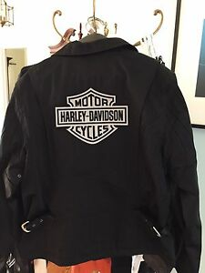 Harley Davidson women's clothing. Variety of leather