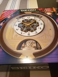 New Seiko Melodies in Motion 2019 Animated Musical Wall Clock Collectors Edition