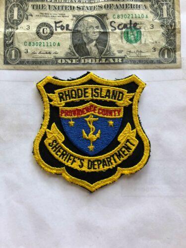 Providence County Rhode Island Police Patch (Sheriff