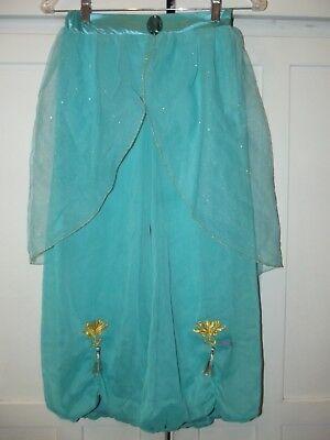 Disney Store Jasmine Aladdin Costume Gown Dress Girls Up Sz L 10 ](Jasmine Costume Teen)