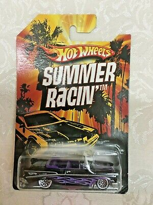 2009 HOT WHEELS SUMMER RACIN SERIES 57 CHEVY BEL AIR CONVERTIBLE