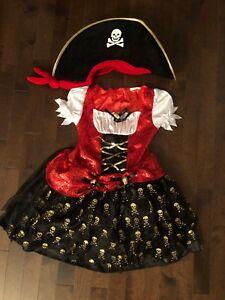 Robe pirate 7/8 ans