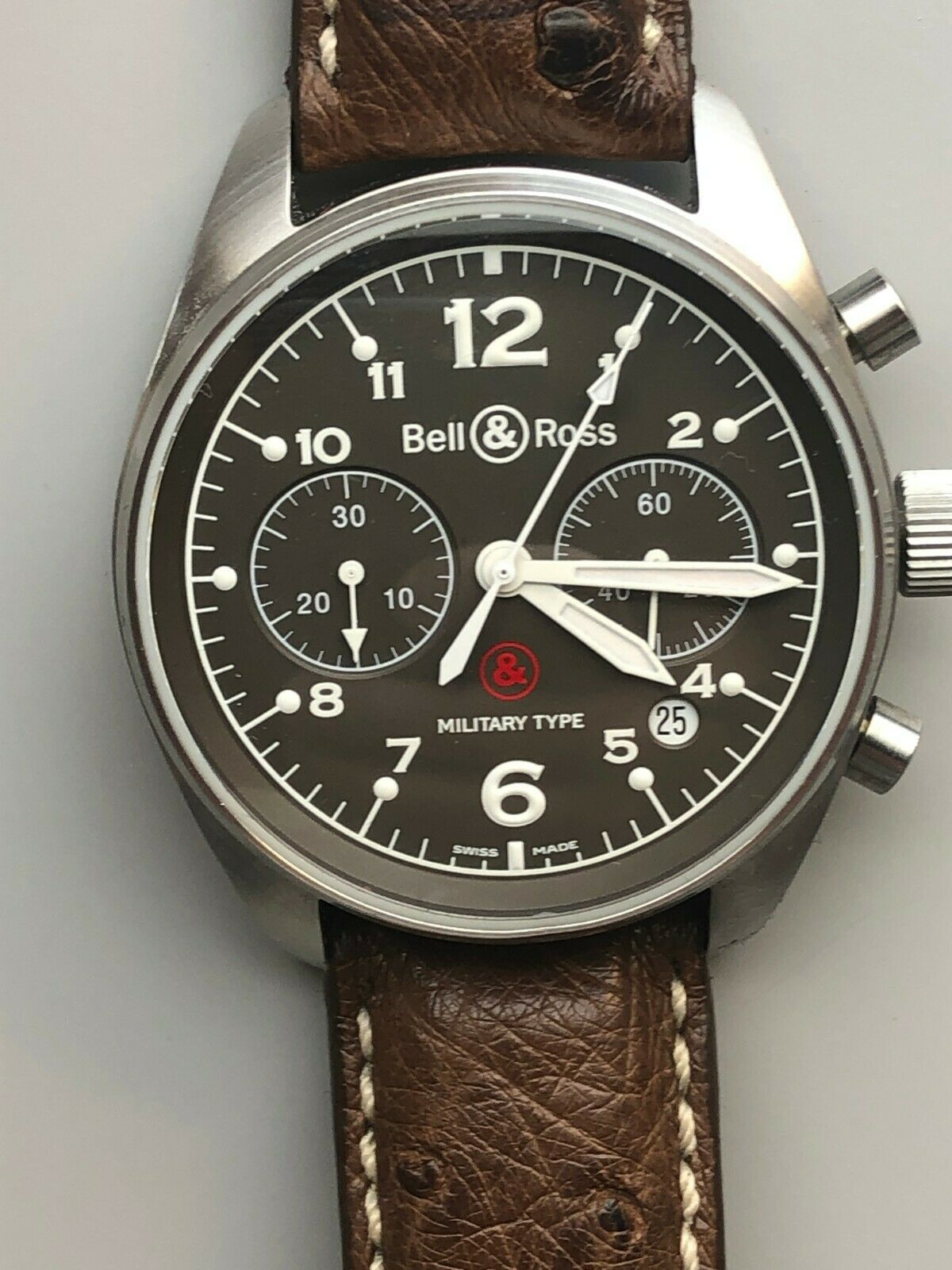 Bell & Ross Br-126.M S262/999 LIMITED EDITION SERVICED 39mm – RARE NO RESERVE - watch picture 1