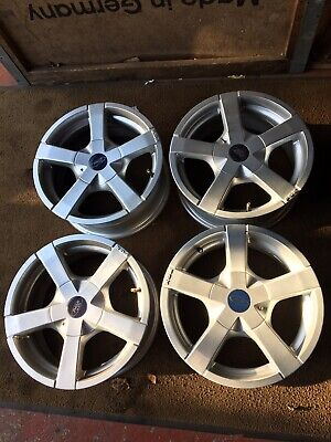 15 INCH SET OF FORD FIESTA ALLOY WHEELS 6.5*15ET38 8X98+108