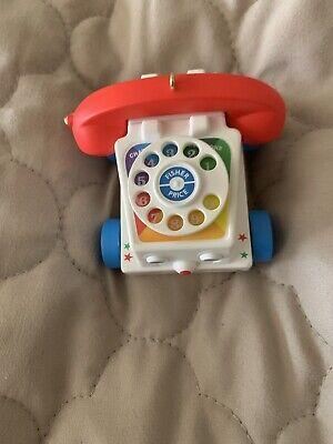 2009 Hallmark Keepsake Ornament Fisher Price Chatter Telephone Phone