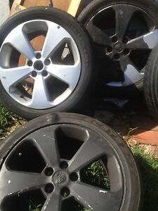 Holden Cruze Rims X 4 plus spare tyre also for Commodores Maidstone Maribyrnong Area Preview