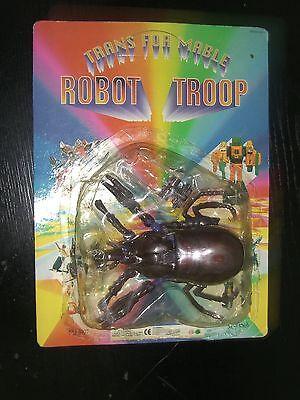 VINTAGE 90'S INSECT ROBOT TROOP MOC TRANSFORMER