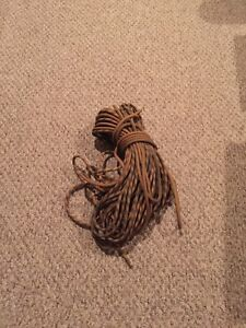 Decommissioned rope