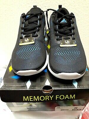 New La Gear Blue And Black Relay Mens Athletic Shoes Sz 11 Reg Price 49.99