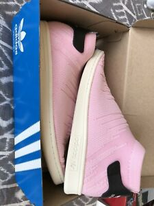 ADIDAS STAN SMITH PINK SOCK SHOES - BRAND NEW - SIZE 8.5