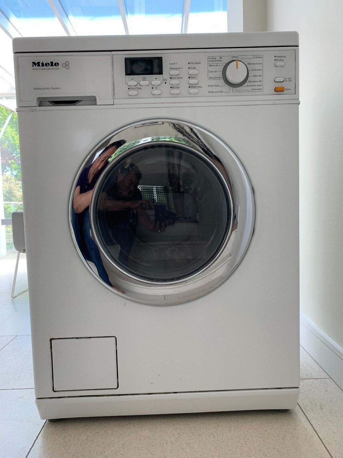 Miele Washer Dryer, WT2670, comes with ~9 months warranty